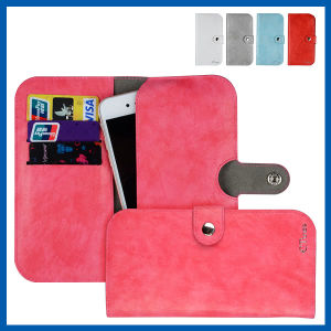 Multi Propose Envelope Wallet Case Purse for Galaxy iPhone 6 pictures & photos