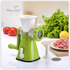 Plastic Kitchen Food Machine Meat Grinder pictures & photos