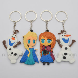 Custom 3D PVC Rubber Key Chain, Soft PVC Keyring, Promotional Keychain Rubber pictures & photos