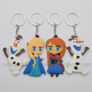 Custom 3D PVC Rubber Key Chain pictures & photos