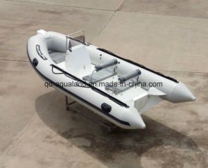 Aqualand 16feet 4.7m Fiberglass Rigid Inflatable Boat/Fishing Boat (RIB470A) pictures & photos