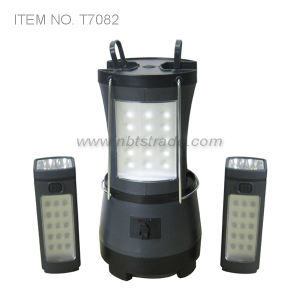 Rechargeable LED Camping Lantern W/2 Detachable Torch pictures & photos