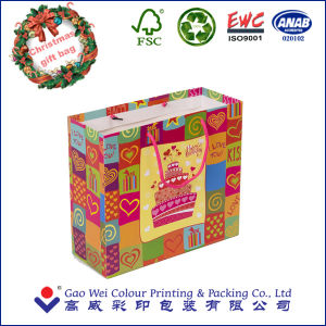 Christmas Paper Bag for Gift pictures & photos