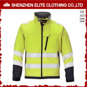 Custom Safety Men Soft Shell Reflective Jacket pictures & photos