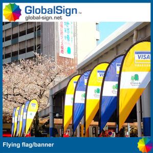 2015 Hot Selling Polyester Fabric Teardrop Banner for Advertising pictures & photos