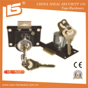 High Quality Iron Drawer Lock Furniture Lock (HL502) pictures & photos