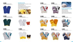 Safety Leather Working Glove in Heat Resistant Gloves and Welding Glove pictures & photos