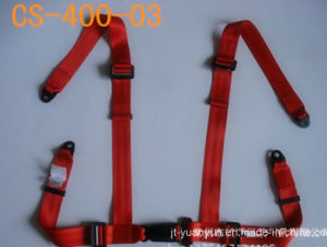 Full Back 4-Point Safety Belt of Racing, Military Vehicles pictures & photos