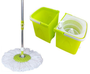 360 Spin Separate Mop Saving Space Design 1702 pictures & photos