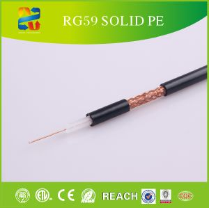 Rg59 Coaxial Cable Structured Cabling with Reach/RoHS Approved pictures & photos