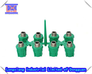 8 Cavities with Metal Inserts for Plastic Valve Injection Mould pictures & photos