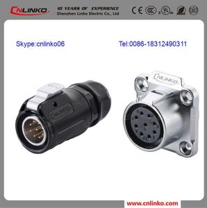 XLR Connector Female and Male 9 Broches Connecteur Circulaire Waterproof Connectors 9 Pin pictures & photos