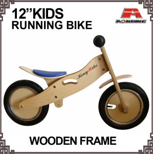 12 Inch Wooden Running Bike (KB-K07) pictures & photos