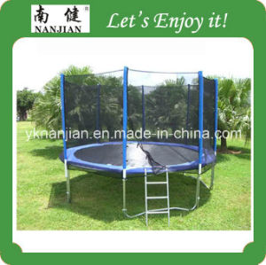 13ft Gymnastic Professional Trampoline for Adults with Inner Enclosure for High Jumping pictures & photos