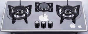 Three Burner Gas Cooktop (SZ-LW-103) pictures & photos