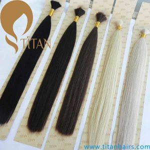 Virgin Human Hair Bulk Brazilian Remy Hair