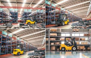 2ton Diesel Engine Forklift Truck pictures & photos