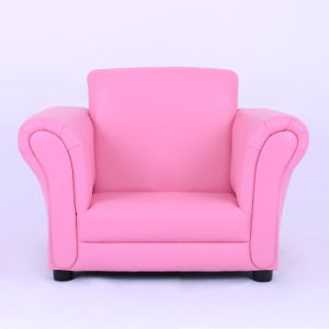 Pink PVC Leather Girl Leisure Kids Sofa/Children Furniuture pictures & photos