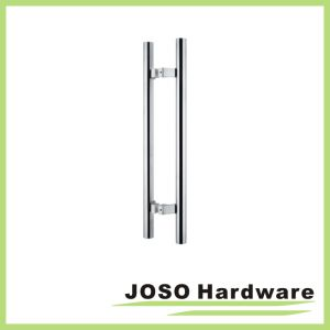 Block Mounting Posts Door Single Wood Door Tube Handle (SHD02) pictures & photos