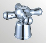 Faucet Handle in ABS Plastic With Chrome Finish (JY-3058) pictures & photos