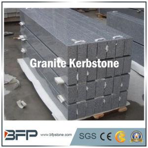 China Regular Dark Grey Kerb Stone Granite Kerbstone pictures & photos