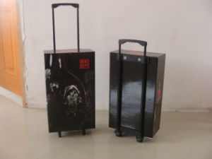 Wholesale Paper Cardboard Trolley Display Box for Exhibition pictures & photos