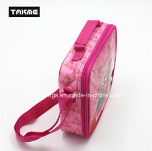 Cartoon Printing Cooler Bag Ice Bag Lunch Bag for Children (Transparent PVC Printing) pictures & photos