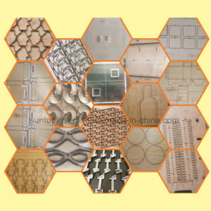 Flat and Round Die Board CO2 Laser Cutting Machine/Die Board Wood Laser Cutting Machine pictures & photos