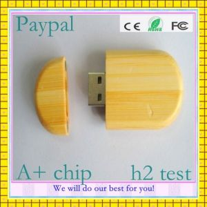 Full Capacity High Quality Bamboo USB Drives pictures & photos