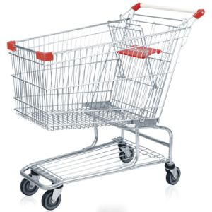 Grocery Shopping Cart Trolley Made in China Factory pictures & photos
