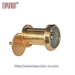 220 Degree Glass Lens Brass Door Viewer (DV004) pictures & photos