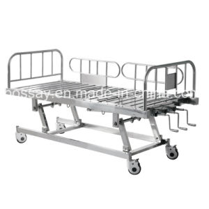 One Year Warranty Manual Bed Adjustable Patient Bed pictures & photos