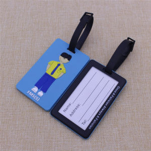2016 Cheapest Personalised Logo Rubber Luggage Tag pictures & photos