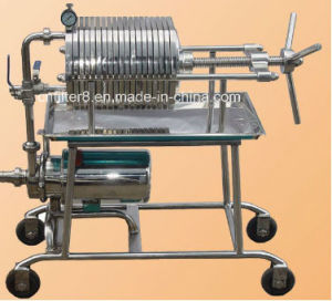 Stainless Steel Food Grade Plate Press Oil Filtration Machine (BAS100) pictures & photos