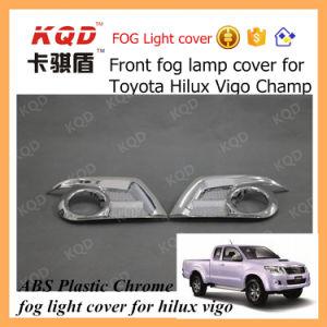 Car Chrome Accessories Foglight Cover for Toyota Fog Lamp Cover Hilux Vigo Fog Lamp Cover 2012 for Toyota Hilux Vigo Parts Thailand