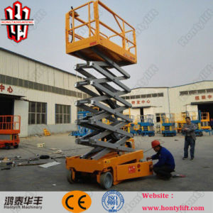 10m Electric Hydraulic Scissor Lifts Table for Sale pictures & photos