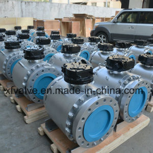 Cast Stainless Steel or Carbon Steel Flange End Ball Valve pictures & photos
