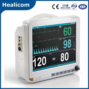15 Inch Screen Multi-Parameter Medical Patient Monitor pictures & photos