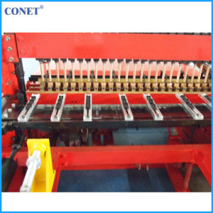 Conet Brand Semi-Automatic Welded Wire Fence Panels Making Machine (HWJ1200 with line wire and cross wire 3-8mm) pictures & photos
