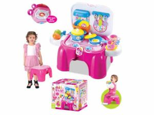 Kids Toy Children Toy Set Kitchen Toy for Girl (H0535146) pictures & photos