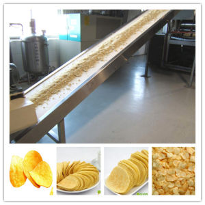 Automatic Frozen French Fries Production Line for Small Scale, 100kg/H pictures & photos