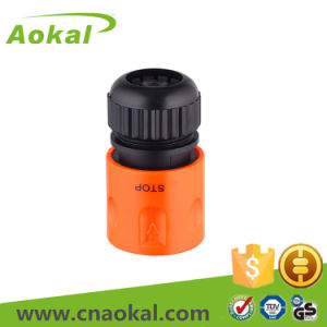 """Hose Rotating Connector Plastic Fitting 1/2"""" Hose Connector with Stop pictures & photos"""