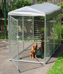 Double Door Metal Dog Cage Puppy Travel Cage/Powder Coated Dog Cage/Pet Cage pictures & photos
