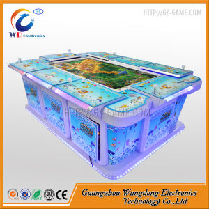 China fishing casino green dragon fish table game machine for How to play fish table game