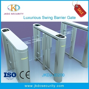 Time Attendance Automatic Swing Barrier Gate Security Gate for Access Control System pictures & photos