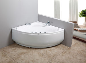 Deluxe Freestanding Sanitary Ware Acrylic Bathtub pictures & photos