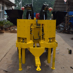 Twin Moulds Automatic Hydraulic Interlocking Clay Brick Machine (M7MI) pictures & photos