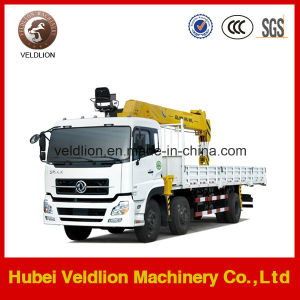 Dongfeng Tianlong 10 Wheels Truck Mounted 8-10t Truck Crane pictures & photos