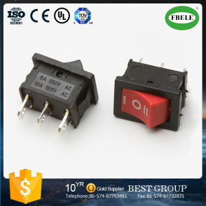 Miniature Rocker Switch Rocker Switch T120 on -off Rocker Switch pictures & photos