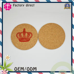 Round Shape 1mm Thick Cup Mat Pad Coaster pictures & photos